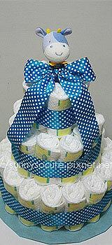 彌月尿布蛋糕塔