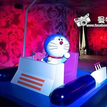 搭乘時光機重返童年。哆啦A夢百年特展