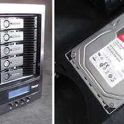 當Toshiba N300 6TB硬碟遇上樺賦 Thecus W5810 NAS 擦出新火花