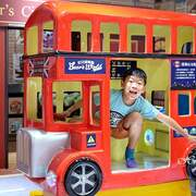【桃園親子景點】貝兒絲樂園桃園英倫小鎮主題館~歐洲小鎮主題樂園暢玩14主題遊戲區,首創結合兒童美髮