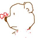 愛種花的熊 圖像