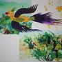 七彩鳥彩繪手作坊